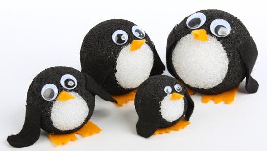 Новогодние пингвины своими руками